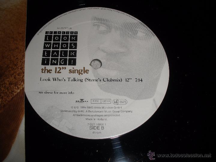 Discos de vinilo: DR ALBAN : Look Whos Talking - Foto 2 - 58768076