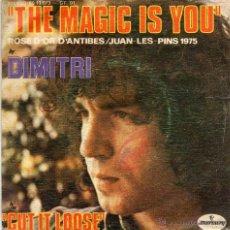 Discos de vinilo: DIMITRI - THE MAGIC IS YOU - SINGLE . Lote 54727784