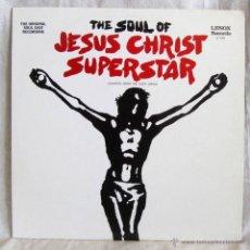 Discos de vinilo: SOUL EXCERPTS FROM THE ROCK OPERA JESUS CHRIST SUPERSTAR LENOX RECORDS USA. Lote 54729191