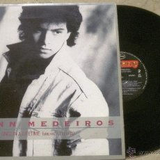 Discos de vinilo: LP GLENN MEDEIROS. DOBLE LP. ONCE IN A LIFETIME. Lote 36643758