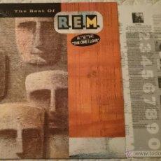 Discos de vinilo: R.E.M. .- THE BEST OF ,,LP. Lote 54732652