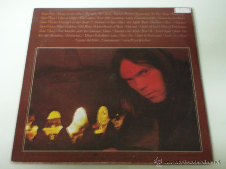 Discos de vinilo: NEIL YOUNG ( DECADE ) USA 1976 LP33 TRIPLE REPRISE RECORDS - Foto 2 - 1129198