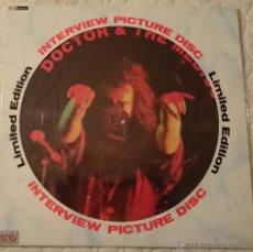 Discos de vinilo: DOCTOR & THE MEDICS,,,INTERVIEW PICTURE DISC,,,ENGLAND---. Lote 54744691