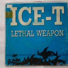 Discos de vinilo: ICE-T - LETHAL WEAPON (ARMA LETAL) / LETHAL WEAPON (PROMO 1989). Lote 54752580