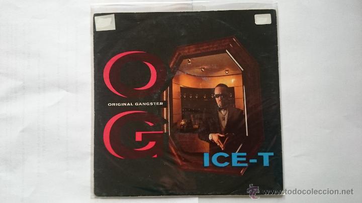 ICE-T - O.G. ORIGINAL GANGSTER / BITCHES 2 (ALBUM VERSION) (EDIC. ALEMANA 1991) (Música - Discos - Singles Vinilo - Rap / Hip Hop)