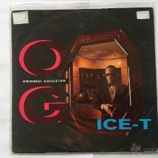 Discos de vinilo: ICE-T - O.G. ORIGINAL GANGSTER / BITCHES 2 (ALBUM VERSION) (EDIC. ALEMANA 1991). Lote 54752644