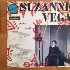 Discos de vinilo: SUZANNE VEGA: MARLENE ON THE WALL. A&M AMY 309 (UK 1986). Lote 54752775