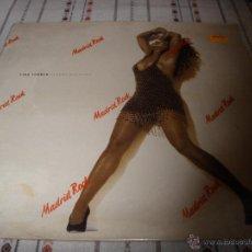 Discos de vinilo: TINA TURNER STEAMY WINDOWS. Lote 54756370
