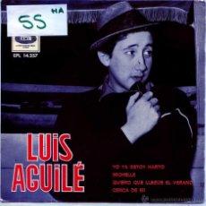 Dischi in vinile: LUIS AGUILE / MICHELLE / YO YA ESTOY HARTO + 2 (EP 1966). Lote 54759254