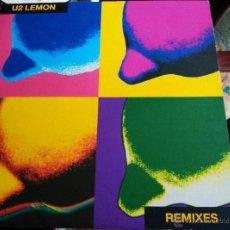 Discos de vinilo: U2 MAXI LEMON PROMOCIONAL . NUEVO A ESTRENAR. Lote 54763880