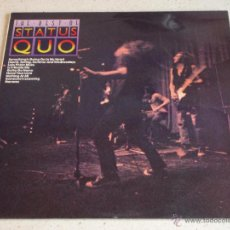 Discos de vinilo: STATUS QUO ( THE REST OF STATUS QUO ) 1976 - ENGLAND LP33 PYE RECORDS. Lote 54780556