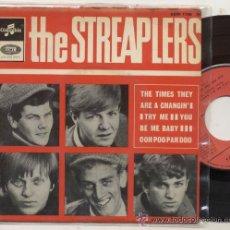 Discos de vinilo: THE STREAPLERS / THE TIMES THEY / EP 45 RPM / EDITADO POR EMI COLUMBIA. Lote 54784921