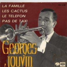 Discos de vinilo: GEORGES JOUVIN - LA FAMILLE - EP. Lote 54786015