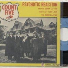 Discos de vinilo: COUNT FIVE / PSYCHOTIC REACTION / EP 45 RPM / EDITADO POR DISC AZ. Lote 54790325