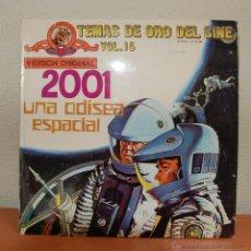 Discos de vinilo: LP BSO 2001 UNA ODISEA ESPACIAL (1972). Lote 54794677