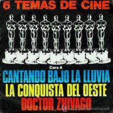 Discos de vinilo: CANTANDO BAJO LA LLUVIA-LA CONQUISTA DEL OESTE-2001-DOCTOR ZHIVAGO (EP.1980) ORQUESTA MGM. Lote 54794900