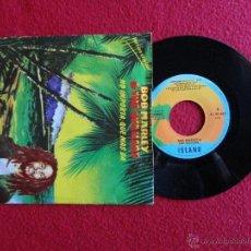 Discos de vinilo: BOB MARLEY & THE WAILERS - NO IMPORTA, QUE MÁS DA / ZIMBABWE // SINGLE // SPAIN // 1980. Lote 54795101