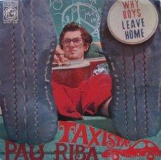 Discos de vinilo: PAU RIBA. TAXISTA. EP CONCÈNTRIC 1967. Lote 54796224