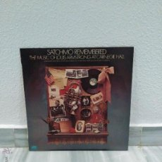 Discos de vinilo: DISCO LP - SATCHMO - REMEMBERED THE MUSIC OF LOUIS AMSTRONG AT CARNEGIE HALL - 1976. Lote 54798877