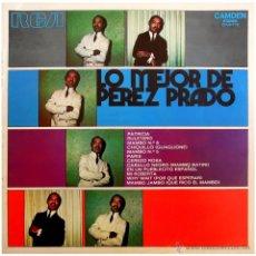 Discos de vinilo: PEREZ PRADO – LO MEJOR DE PEREZ PRADO - LP SPAIN (RE) - RCA CAMDEN CAS-176. Lote 54799464