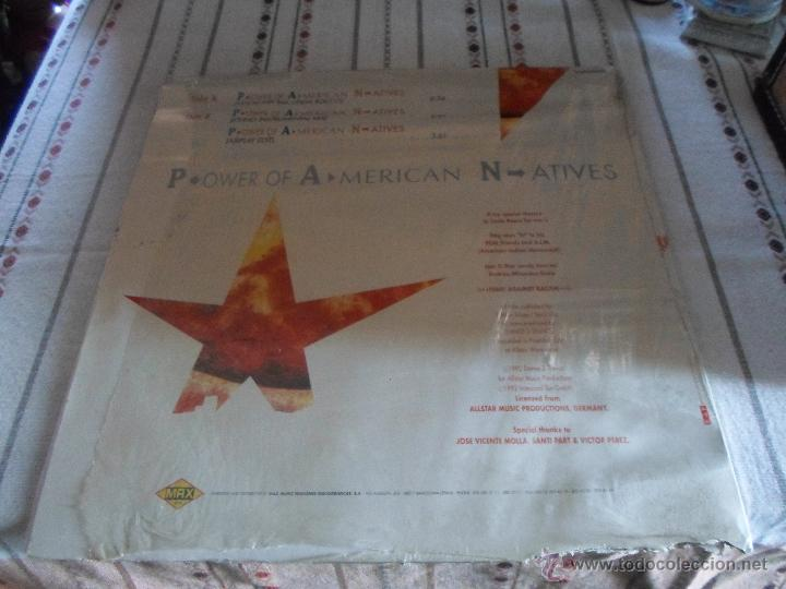 Discos de vinilo: P.ower Of A.merican N.atives - Foto 3 - 54800453