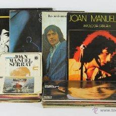 Discos de vinilo: COLECCIÓN DE 10 SINGLES Y 11 LP DE JOAN MANEL SERRAT. AÑOS 60/80. BUEN ESTADO.. Lote 49300076
