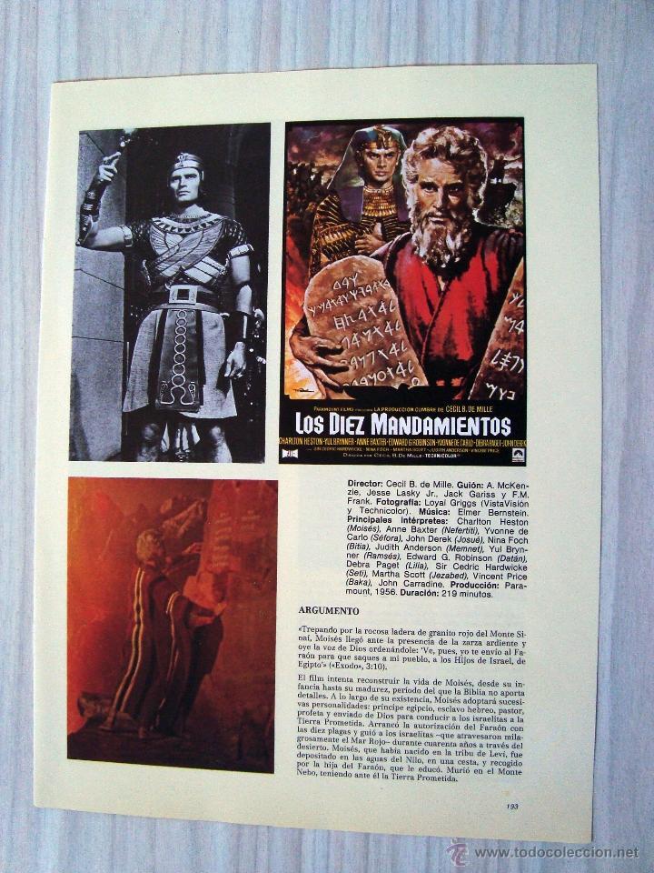 Discos de vinilo: Musica, LP disco vinilo banda sonora los diez mandamientos, the ten commandments, cine - Foto 3 - 54810255