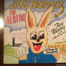 Discos de vinilo: JIVE BUNNY LP -THE ALBUM-. Lote 54811765