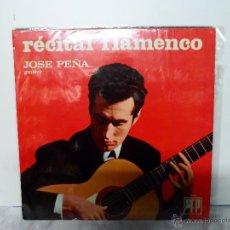Discos de vinilo: RECITAL FLAMENCO. JOSÉ PAÑA. Lote 54822579