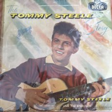 Discos de vinilo: TOMMY STEELE AND THE STEELMEN - THE TOMMY STEELE STORY- 1957 - ESPAÑA - DECCA LF 1288. Lote 54825142
