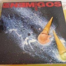 Discos de vinilo: LOS ENEMIGOS – LA VIDA MATA, GRABACIONES ACCIDENTALES – 4GA0374, SPAIN 1990, LP. Lote 54827983