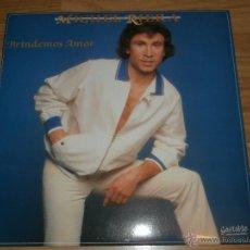 Discos de vinilo: MIGUEL RIERA - LP - BRINDEMOS AMOR - 1987 - GASTALDO - COMPLETAMENTE NUEVO - RARO. Lote 54828860