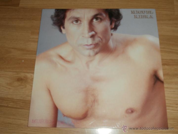 MIGUEL RIERA - LP - MUÑECO DE PASO - 1988 - GASTALDO - COMPLETAMENTE NUEVO - RARO (Música - Discos - LP Vinilo - Solistas Españoles de los 70 a la actualidad)