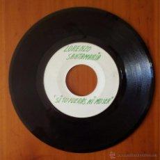 Discos de vinilo: LORENZO SANTAMARIA, SI TU FUERAS MI MUJER (EMI ODEON) SINGLE EP TEST PRESSING -MEGA RARO PROMOCIONAL. Lote 54829595