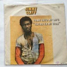 Discos de vinilo: JIMMY CLIFF - COME INTO MY LIFE (ENTRA EN MI VIDA) / TIME WILL TELL (PROMO 1981). Lote 164380088