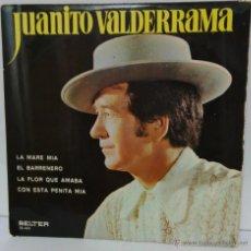 Disques de vinyle: JUANITO VALDERRAMA 1972 BELTER 52.424. Lote 54831063
