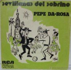 Disques de vinyle: PEPE DA-ROSA - 1974 RCA SPBO-2091. Lote 54831344