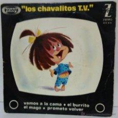 Discos de vinil: LOS CHAVALITOS TV - 1964 -- ZAFIRO Z-E 616. Lote 54832708