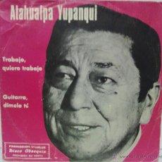 Discos de vinilo: ATAHUALPA YUPANQUI - 1977 -- PUBLICIDAD STARLUX. Lote 54832944