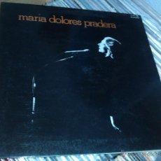 Discos de vinilo: MARIA DOLORES PRADERA ACOMPAÑADA POR LOS GEMELOS - MARIA DOLORES PRADERA LP 1977. Lote 54832968
