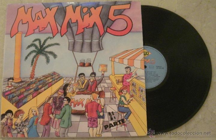 LP MAX MIX 5 - VARIOS (Música - Discos - LP Vinilo - Techno, Trance y House)