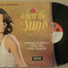 Discos de vinilo: LP RONNIE ALDRICH AND HIS TWO PIANOS - DECCA - 1966 - . Lote 54833127