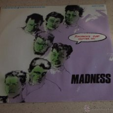 "Discos de vinilo: MADNESS ‎– TOMORROW'S JUST ANOTHER DAY (WARPED 12"" VERSION) UK,1983 STIFF RECORDS. Lote 54833315"