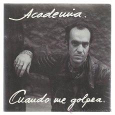 Discos de vinilo: ACADEMIA PARABUTEN SG 3 CIPRESES 1987 PROMO CUANDO ME GOLPEA/ EL PEOR AMIGO PARALISIS PERMANENTE. Lote 54834646