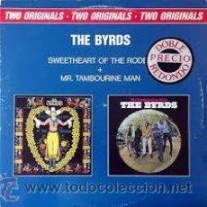 Discos de vinilo: THE BYRDS: THE SWEETHEART OF THE RODEO + MR. TAMBOURINE MAN (DOBLE ALBUM VINILO). Lote 54836188