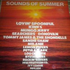 Discos de vinilo: SOUNDS OF SUMMER LP - VARIOUS - FLASH BACKS / PYE RECORDS 1980 - MUY NUEVO (5). Lote 54837239