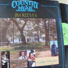 Discos de vinilo: JIM REEVES -GOLDEN MEMORIES -LP 1983 .BUEN ESTADO. Lote 54838209