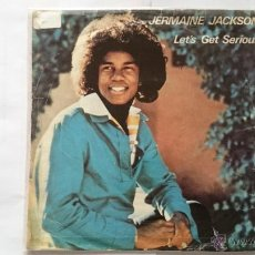 Dischi in vinile: JERMAINE JACKSON - LET GET SERIOUS / JE VOUS AIME BEAUCOUP (I LOVE YOU) (1980). Lote 54838560