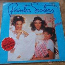 Discos de vinilo: POINTER SISTERS. NEUTRON DANCE. BANDA SONORA DE LA PELICULA SUPERDETECTIVE EN HOLLYWOOD. MAXI 12. Lote 54839933