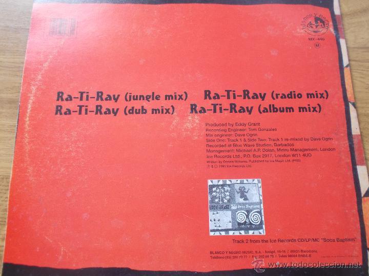Discos de vinilo: EDDY GRANT. RA-TI-RAY MAXI 12 - Foto 3 - 54840441